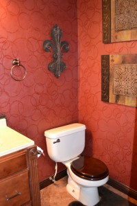 Damask Beaded Stenciling