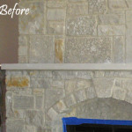 Fireplace before Recoloring