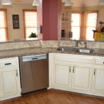 Glazed and Distressed Cabinetry