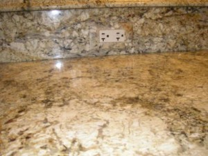 Granite outlet cover matching