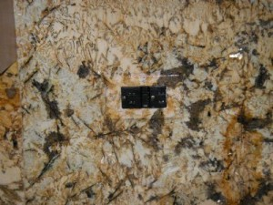 Painted Granite Outlet Cover
