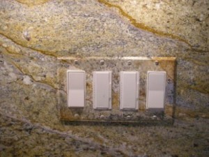 Switchplate faux matching