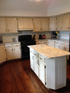 Painted & Distressed Cabinetry